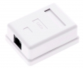 1-Port Cat.5e Surface Mounted Box