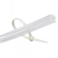 100 x 2.5 - Cable ties (White)