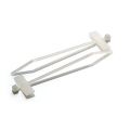 100 x 2.5 - Cable ties for marking (White)